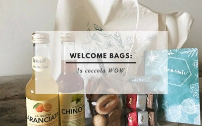 WELCOME LETTER & WELCOME BAGS