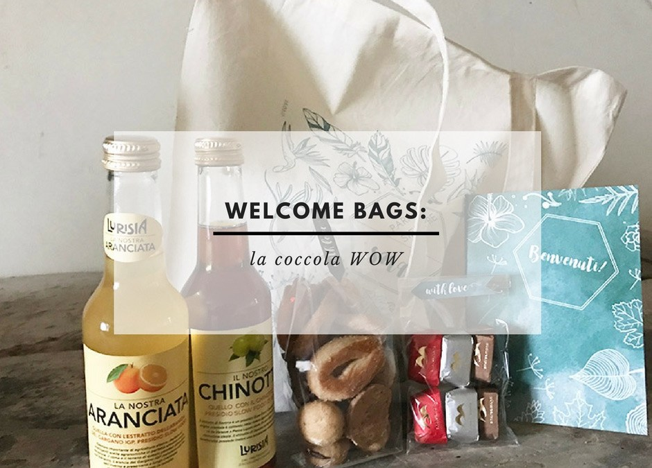(Italiano) WELCOME LETTER & WELCOME BAGS