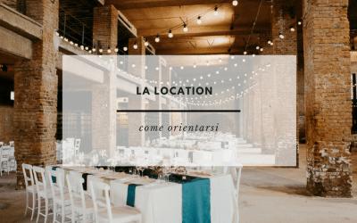 LA LOCATION: ORIENTARSI