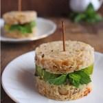 Vegan Cucumber & Mint Tea Sandwich