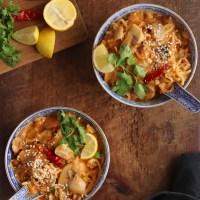 Spicy Thai Mushroom Maggi/Ramen