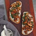 Mushroom Spinach Toast
