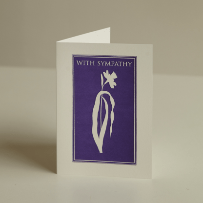 Archivist Letterpress Greeting Card