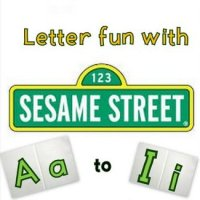 Links to Sesame Street letter songs and podcasts on YouTube - Letters Aa-Ii!