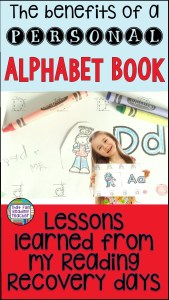 Learning letters and sounds - The benefits of a personal alphabet book | Reading Recovery