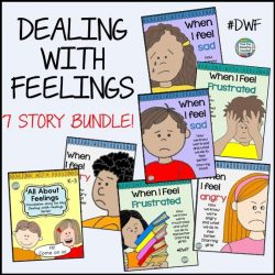 Dealing With Feelings Storybook lessons (1st 7 stories)