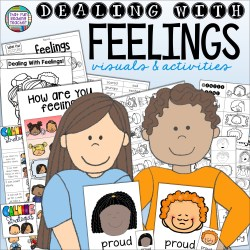 Feelings visuals, tools and activities