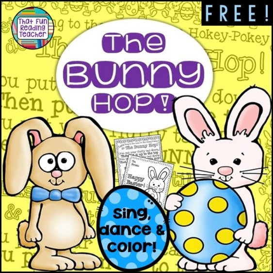 The Bunny hop FREE! | That Fun Reading Teacher
