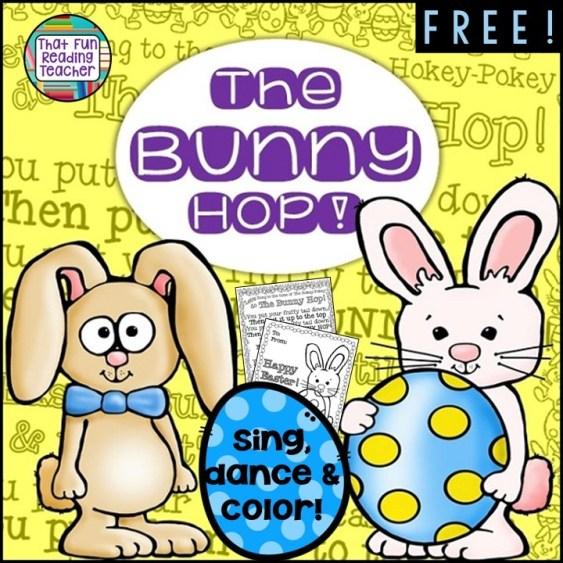 The Bunny hop FREE! | That Fun Reading Teacher