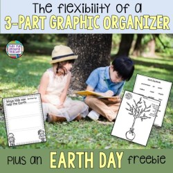 The flexibility of a 3 part graphic organizer - plus an earth day freebie! | That Fun Reading Teacher