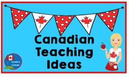 Canadian Teaching ideas