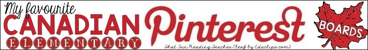 ThatFunReadingTeachers Favourite Canadian Pinterest Boards