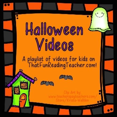 Halloween videos - FREE! on ThatFunReadingTeacher.com