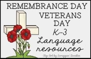 Remembrance Day / Veterans Day Language resources on Pinterest