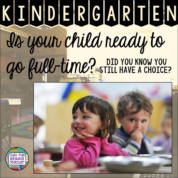 I've taught both full-day alternate-day kindergarten and half-day kindergarten programs, and teach at a school that piloted Ontario's full-time kindergarten program. Our kids both attended half-day programs. The biggest 'best-fit' factor really does lie with the individual child. Here are a few things to take into consideration.