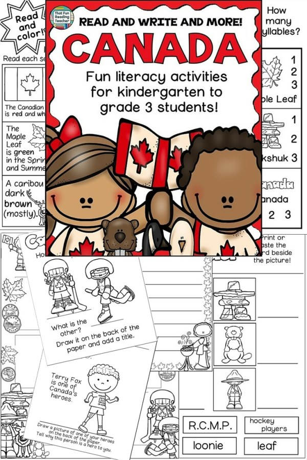 CANADA - Read and Write and More!