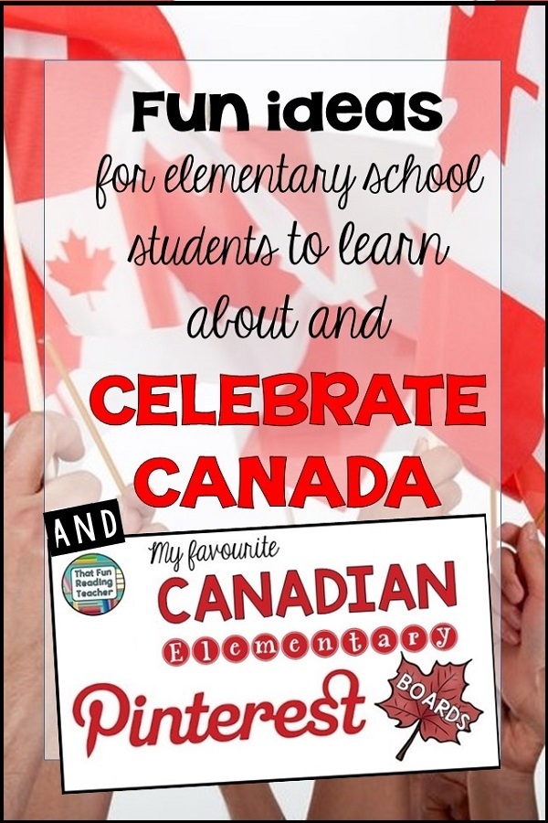 Fun ideas for elementary students to learn about and celebrate Canada!
