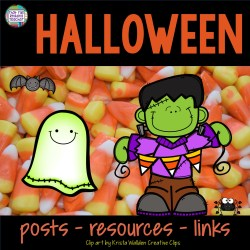 Halloween posts, resources, links on That Fun Reading Teacher.com
