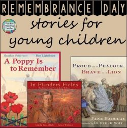 Remembrance Day Stories for young children