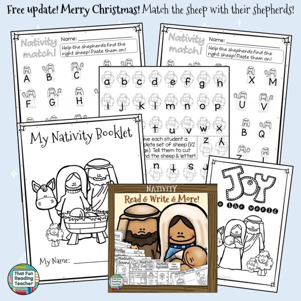Nativity Read and Write and More Free update!