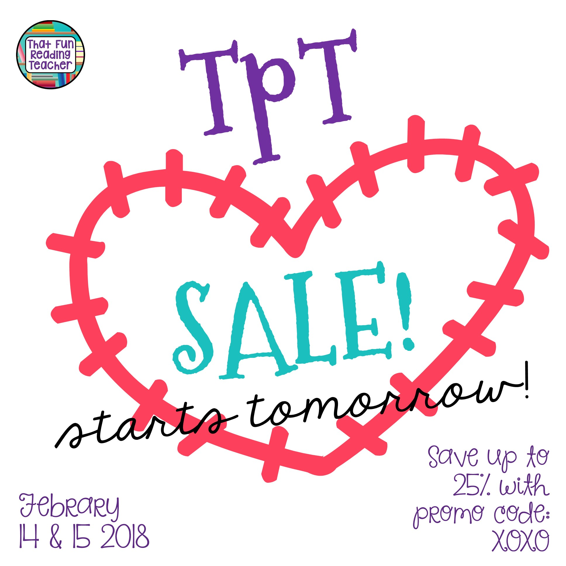 TpT sale Feb 14 and 15 2018