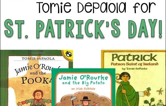 Stories by author/illustrator Tomie DePaola for St. Patrick's Day!