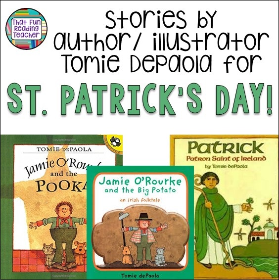 Stories by author illustrator Tomie DePaola