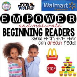 Empower and motivate beginning readers. Show them that they can already read! | That Fun Reading Teacher.com