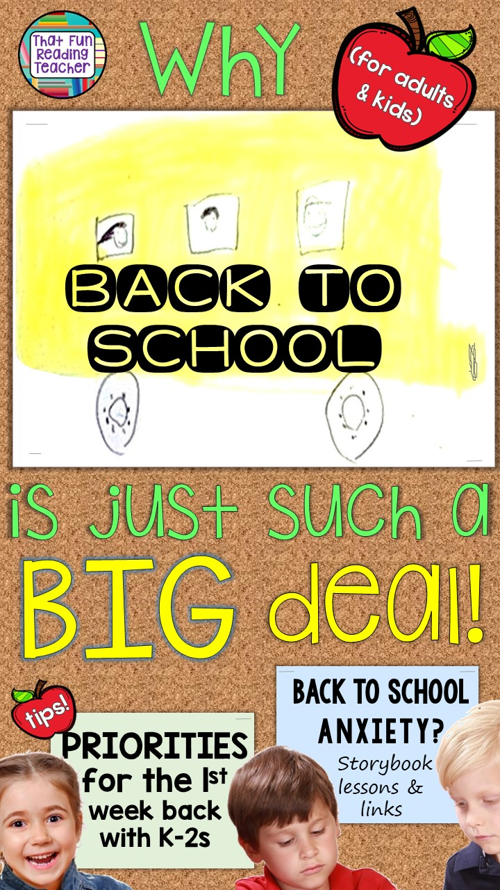 Back to School is a BIG deal! - Managing back to school anxiety by focusing on priorities!