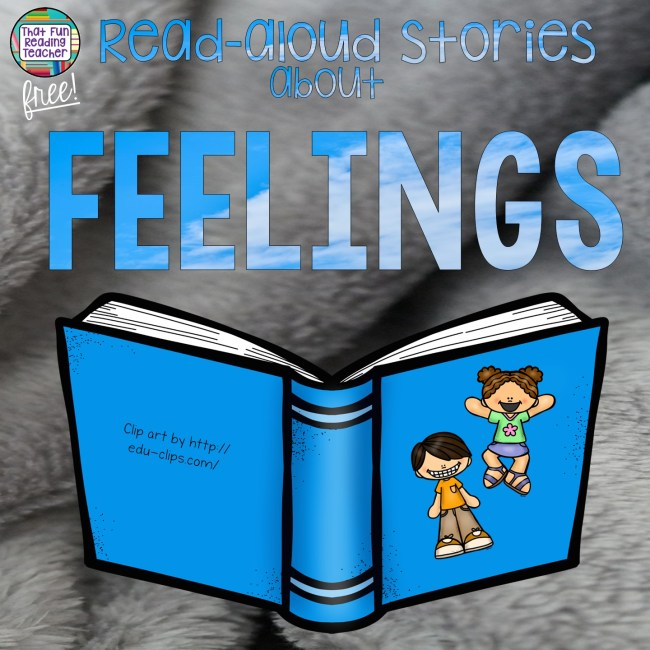 Free playlist of read-aloud stories about feelings and emotions | That Fun Reading Teacher.com #feelings #stories #readalouds #kindergarten #iteachprimary #regulateemotions #emotionalregulation #calmingcorner #specialeducation