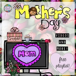 Free playlist: Mother's Day videos and more! | That Fun Reading Teacher.com