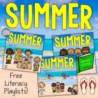 Summer Playlists for Kindergarten and Primary Students