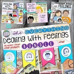 The Dealing-With-Feelings Everything Bundle #DWF #feelings #emotions #selfregulation