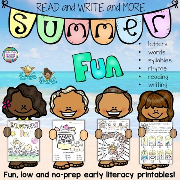 That Fun Reading Teacher - Fun pre-K and primary learning