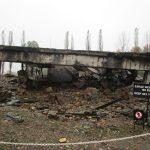 The remain of a crematorium at Auschwitz-Birkeneau II