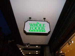 Whole Foods, Kensington, London, Summer 2007
