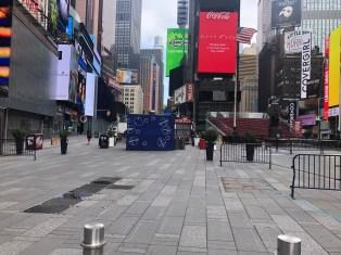 Times Square During Coronavirus