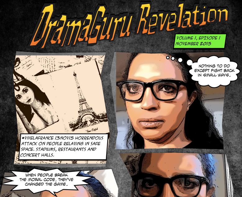 dramaguru revelation comic book v1e1 Paris - Grandiose