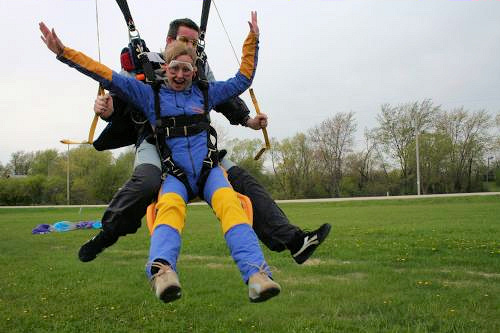 skydiving over age 60