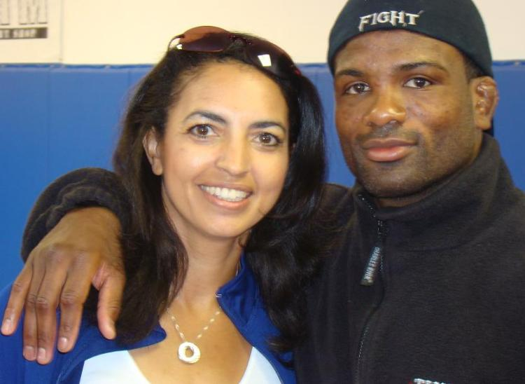 Cheryl Ragsdale and Din Thomas, UFC Fighter