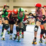 Roller Derby Another Sport Where Headgear Gets Knocked Off Easily