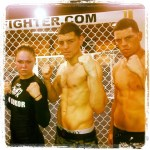 Diaz and Rousey grappling before UFC 143