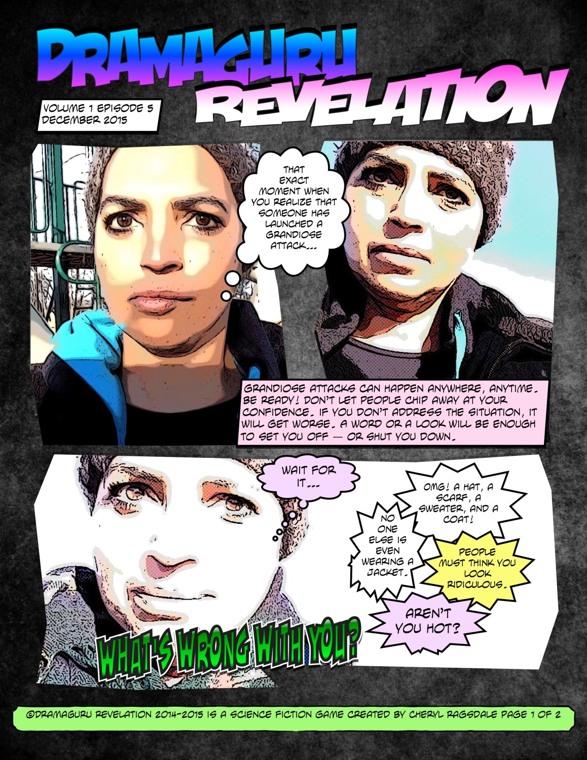 DramaGuru Revelation comic book aren't you hot? Vol. 1 Ep5 page_1