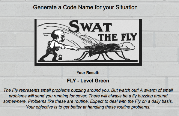 the fly result dramaguru code name quiz