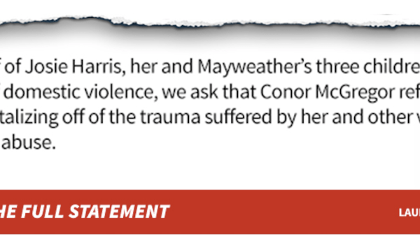 Conor McGregor Domestic Violence Joke Missed Floyd, Struck His Family Trash talking to hype Mayweather/McGregor is OK. But, when Conor shifted the taunting towards Floyd's family, he missed Floyd and struck the children.