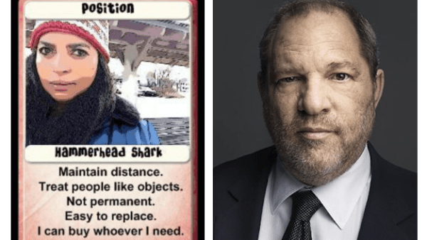 Two-Faced Harvey Weinstein Both Sides Revealed When a man has this much power, we naturally look for