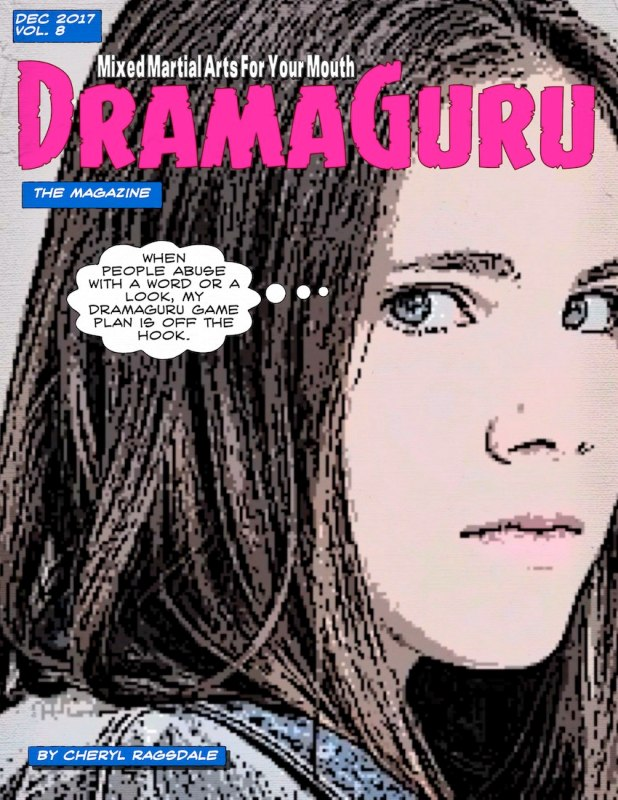 December Magazine 2017 DramaGuru cover girl