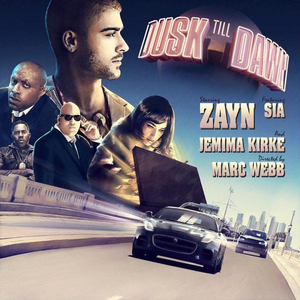 Resultado de imagem para ZAYN feat. Sia - Dusk Till Dawn