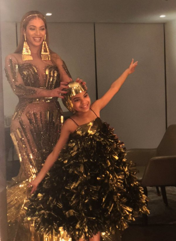 Beyonce Blue Ivy & Family Shine 2nd Annual Wearable