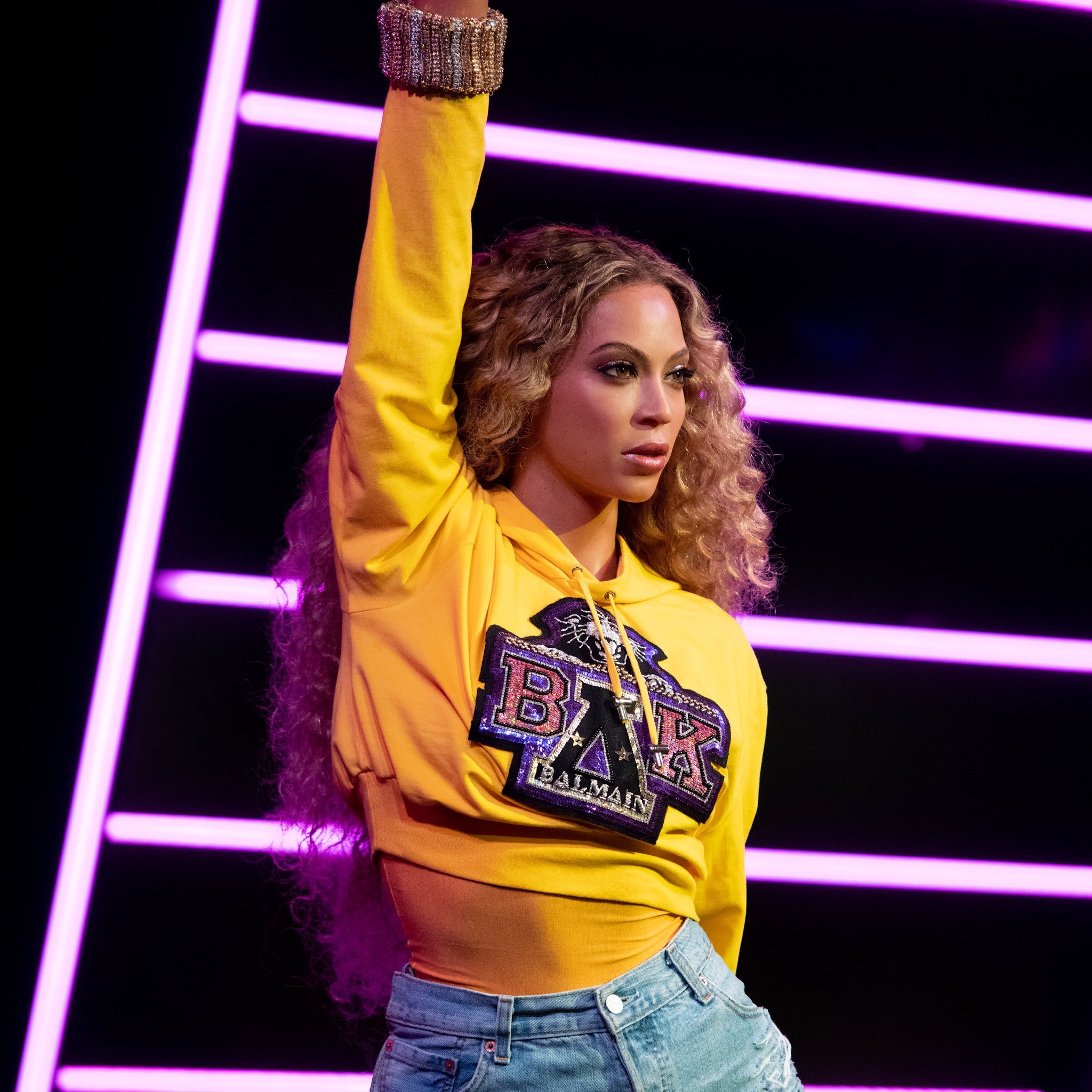 new beyonce wax figure unveiled at